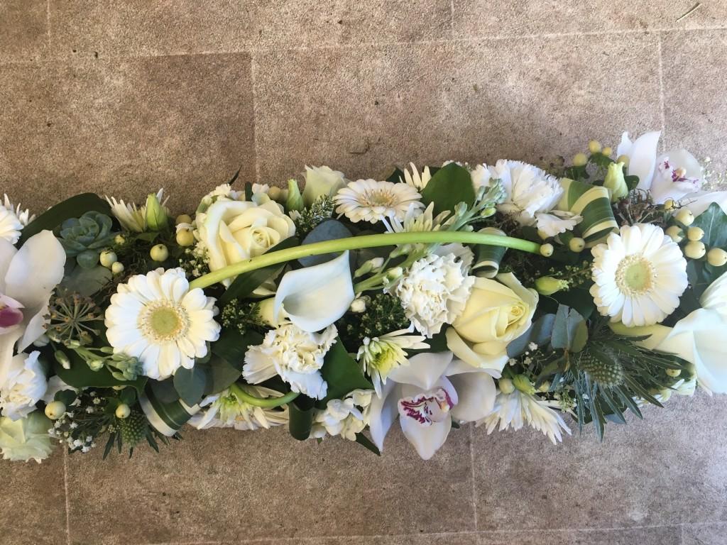 Floral tribute grandfather clock izmirmasajfo