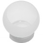 Colony Frosted White Candle Holder