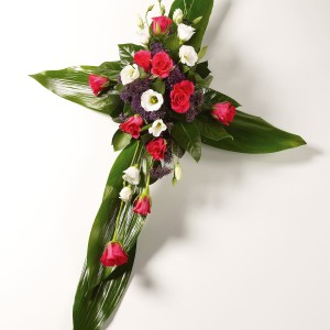 Contempary foliage cross £40.00 (various colours available)