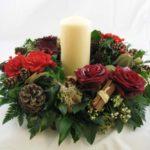 Round Candle Arrangement