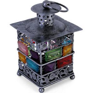 bejeweled lantern small, pewtar