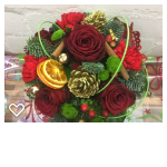festive glow arrangement
