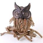 driftwood standing owl