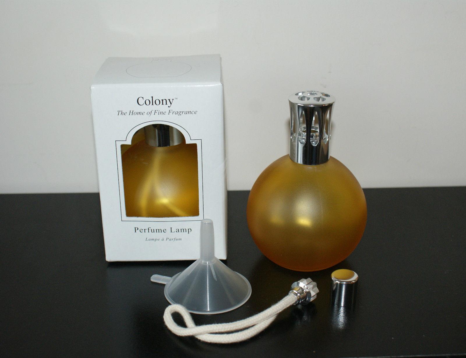 colony perfume oil lamp