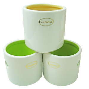 COLONY CERAMIC TEA LIGHT HOLDER