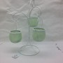 Mint Green tea light holder