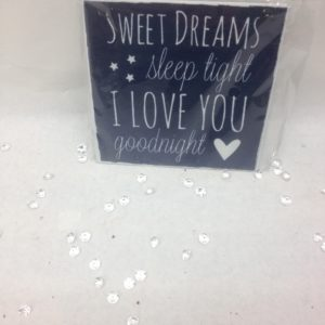 Sweet Dreams Plaque