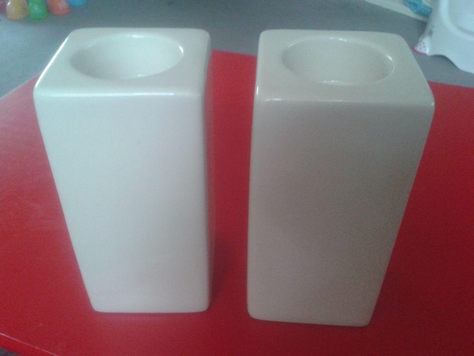 colony cream high tea light holders