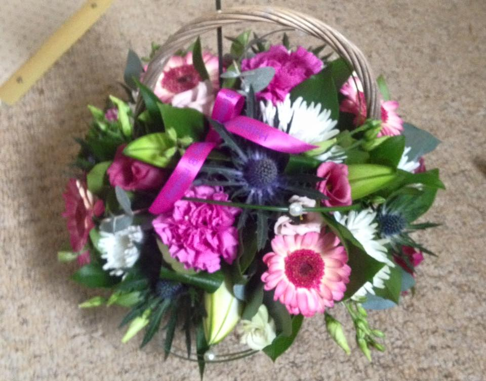 florists choice basket