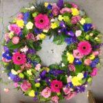 Wreath made to florists choice