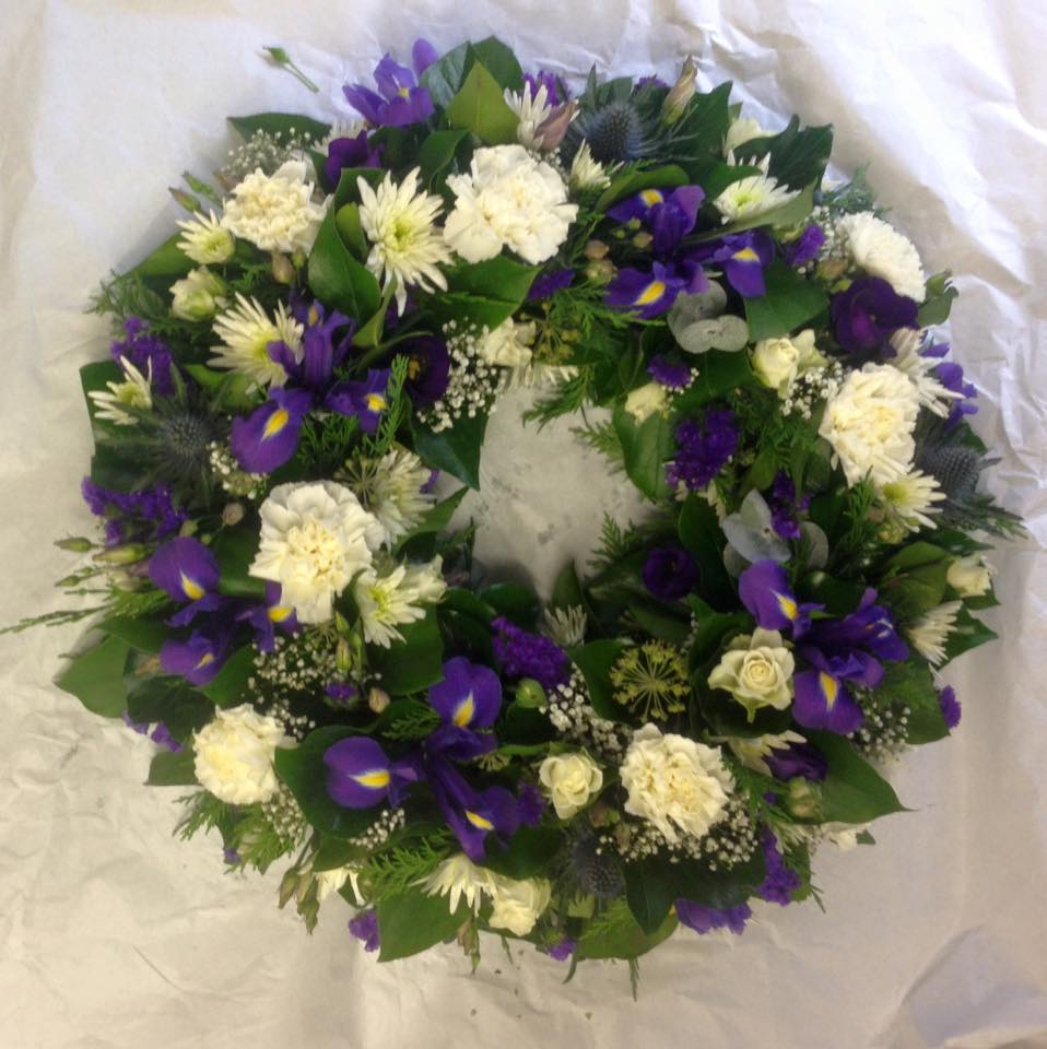 Wreath made to florists choice