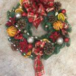 festive door wresth