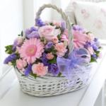 pastel basket