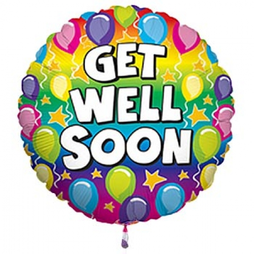 Get Well soon balloon extra