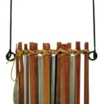 Colony hurricane Wicker glass lantern