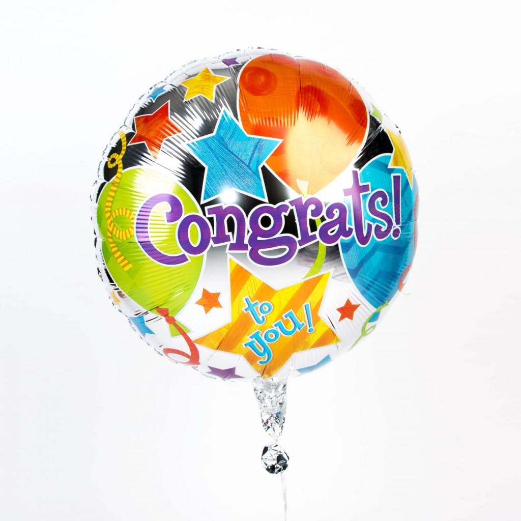 Congratulations Balloon extra