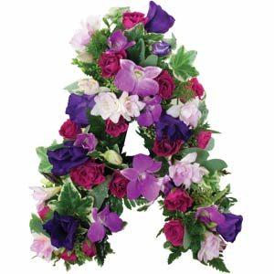 Pink and Purple Mum Frame
