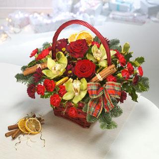 Scottish themed Christmas Basket
