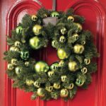 bauble spruce wreath