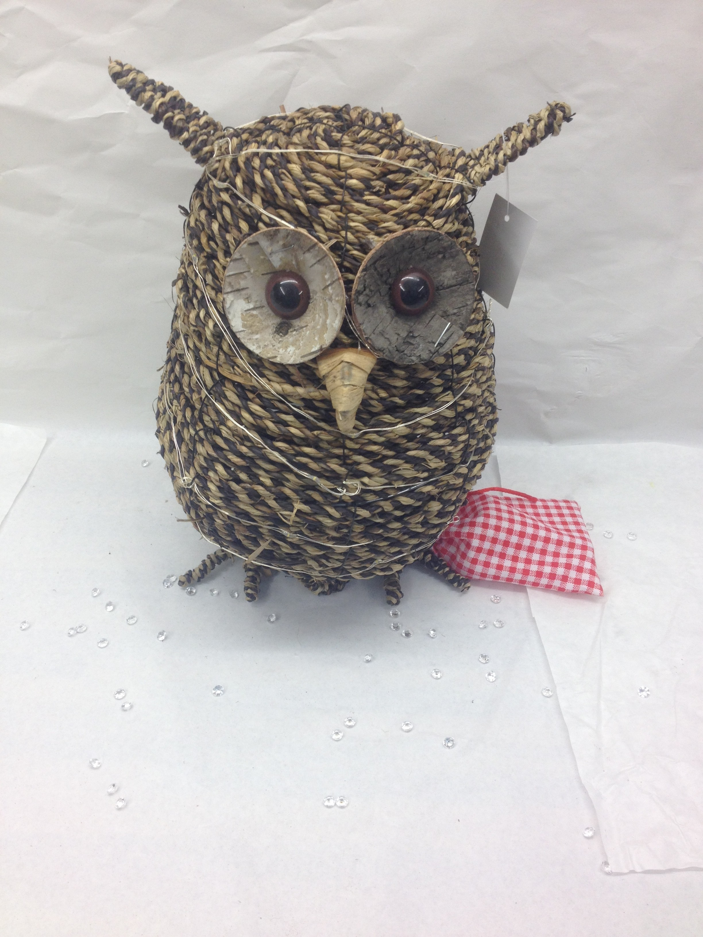 rope led owl