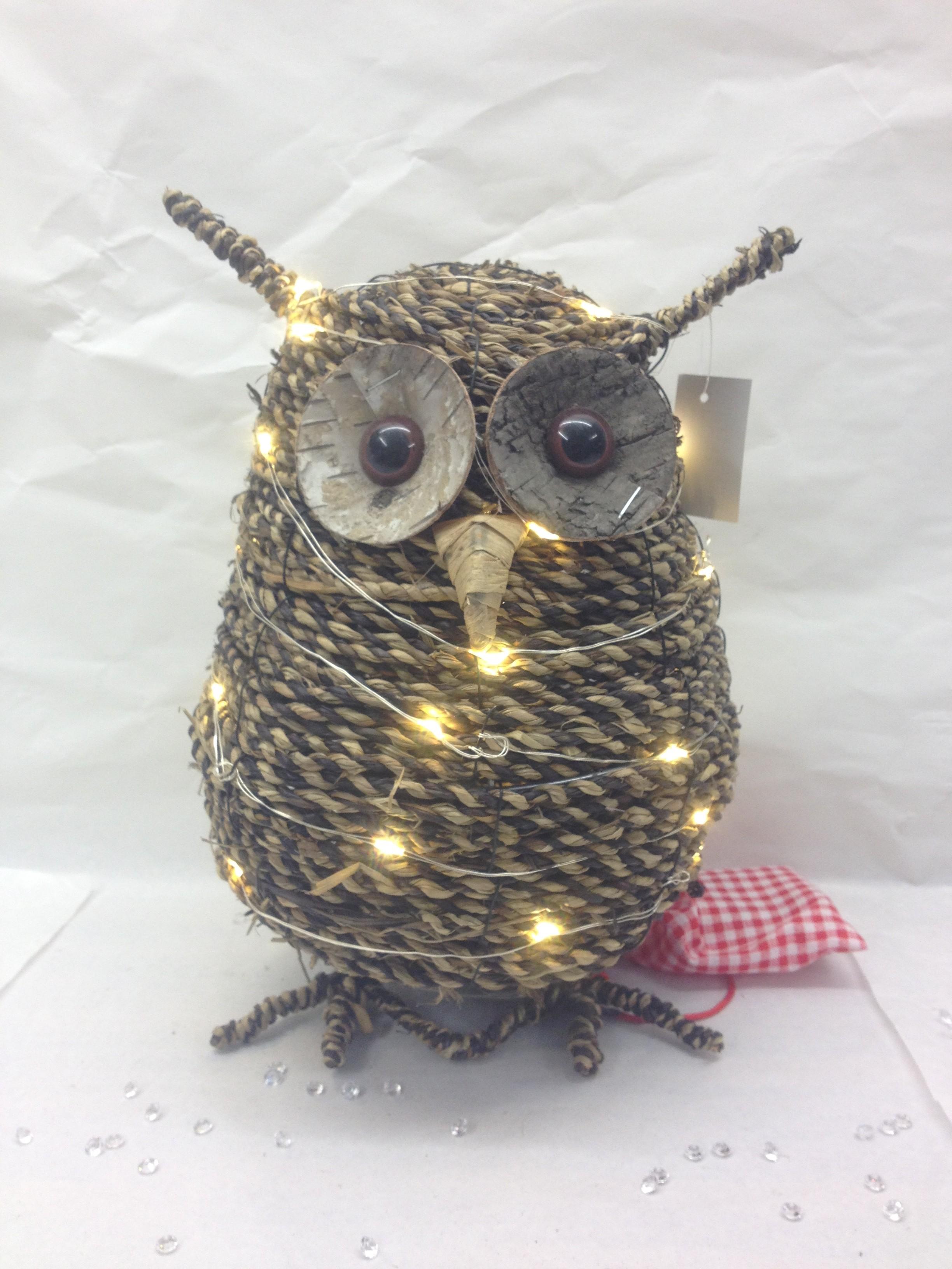 Rope LED Owl