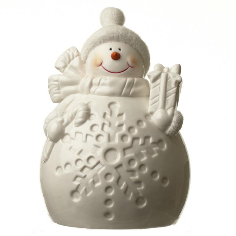 Snowman With Led Decor