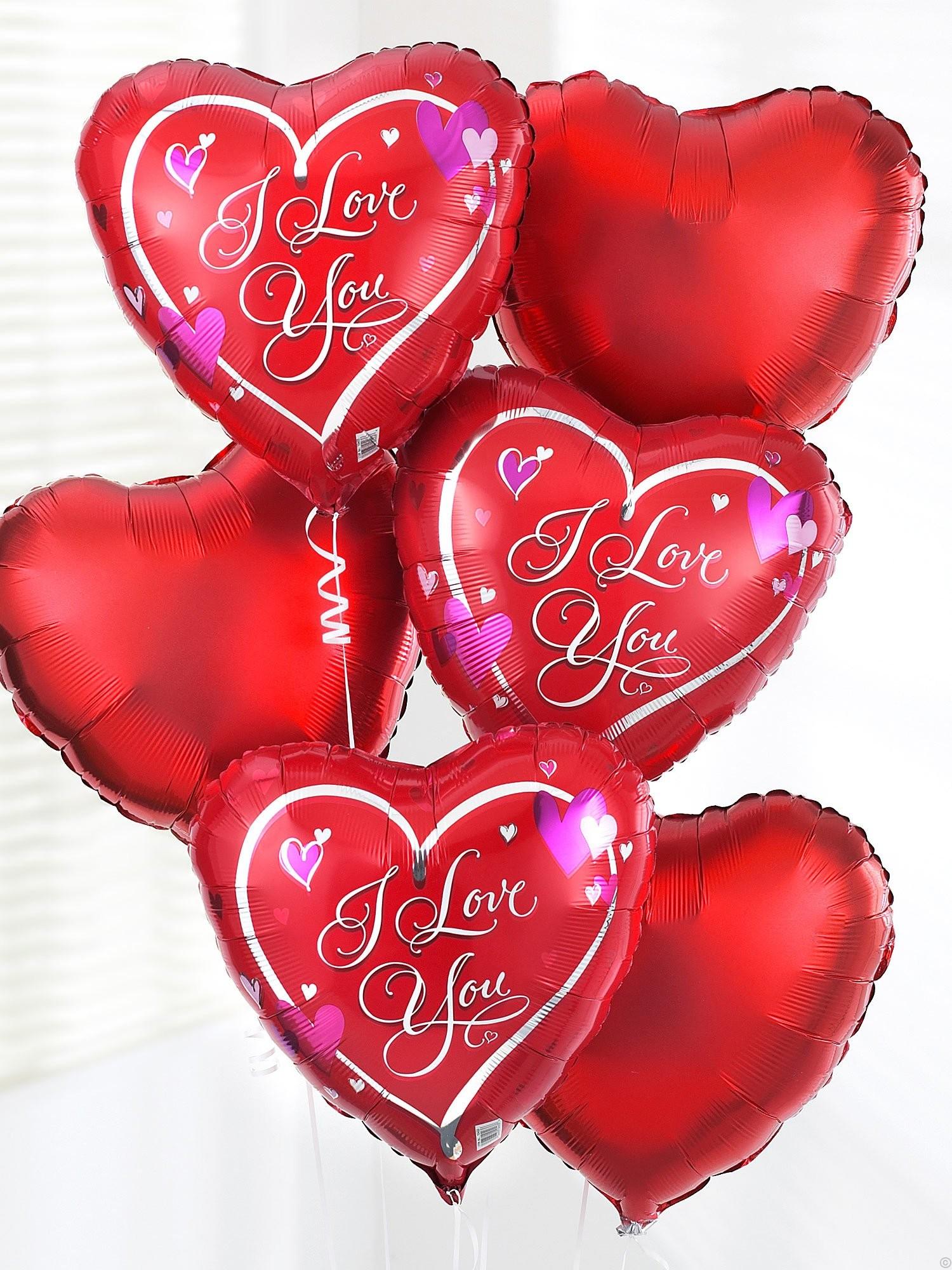 I love you ballooon bouquet