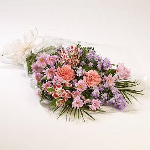 Funeral flowers in cello from £15.00