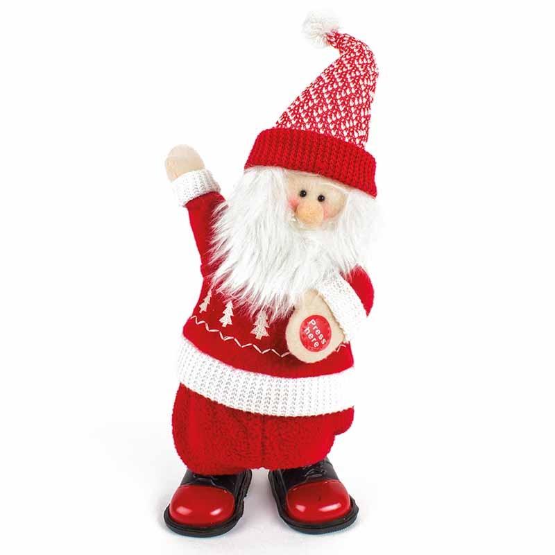 Singing Walking Santa